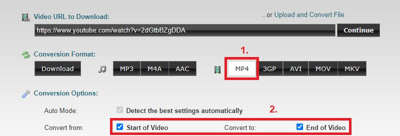 download portion youtoube clipconverter step2