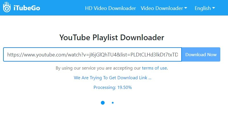 downloading youtube playlist with keepvid pro