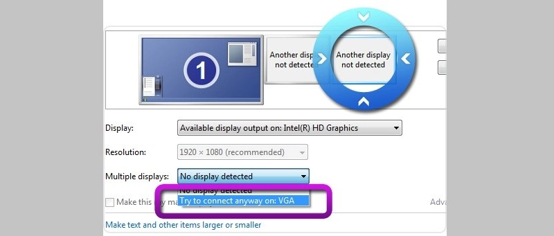 install hd graphic output