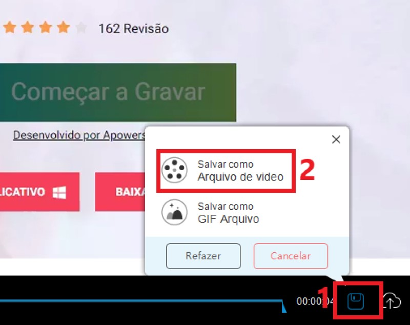 online screen recorder play step3